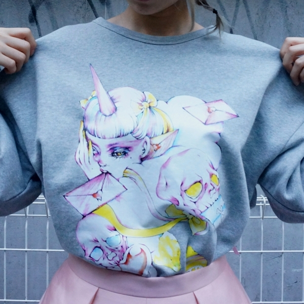 fleamadonna×ERICO 「Bring my love」sweat